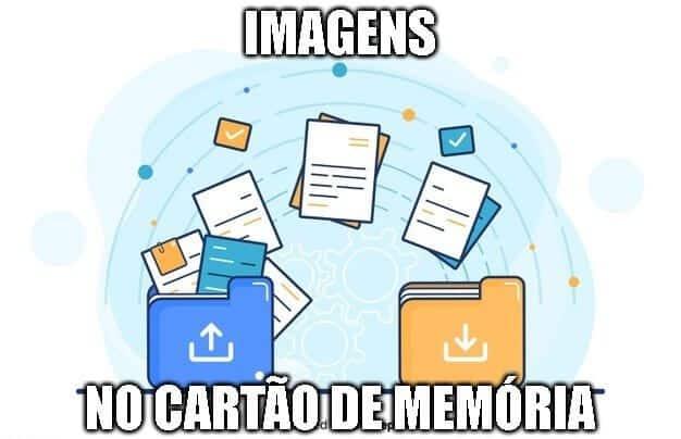 transferir imagens celular cartao de memoria