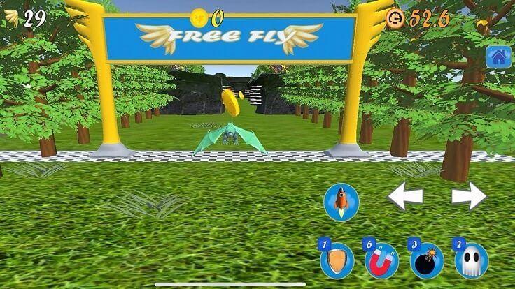 Free Fly jogo de corrida infinita