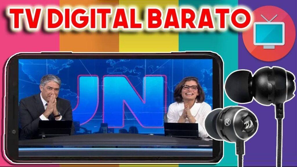 Comprar Celular Com TV Digital Barato